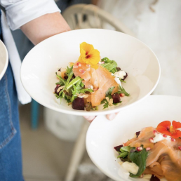 heather-restaurant-server-holding-food